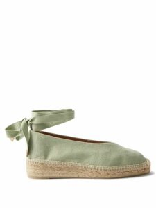 Rianna + Nina - Mika Printed Long Coat - Womens - Green Multi