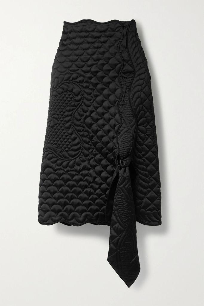 Dolce & Gabbana - Cotton-blend Guipure Lace Jacket - Black
