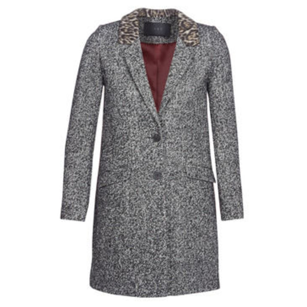 Ikks  MIDIMOI  women's Coat in Grey