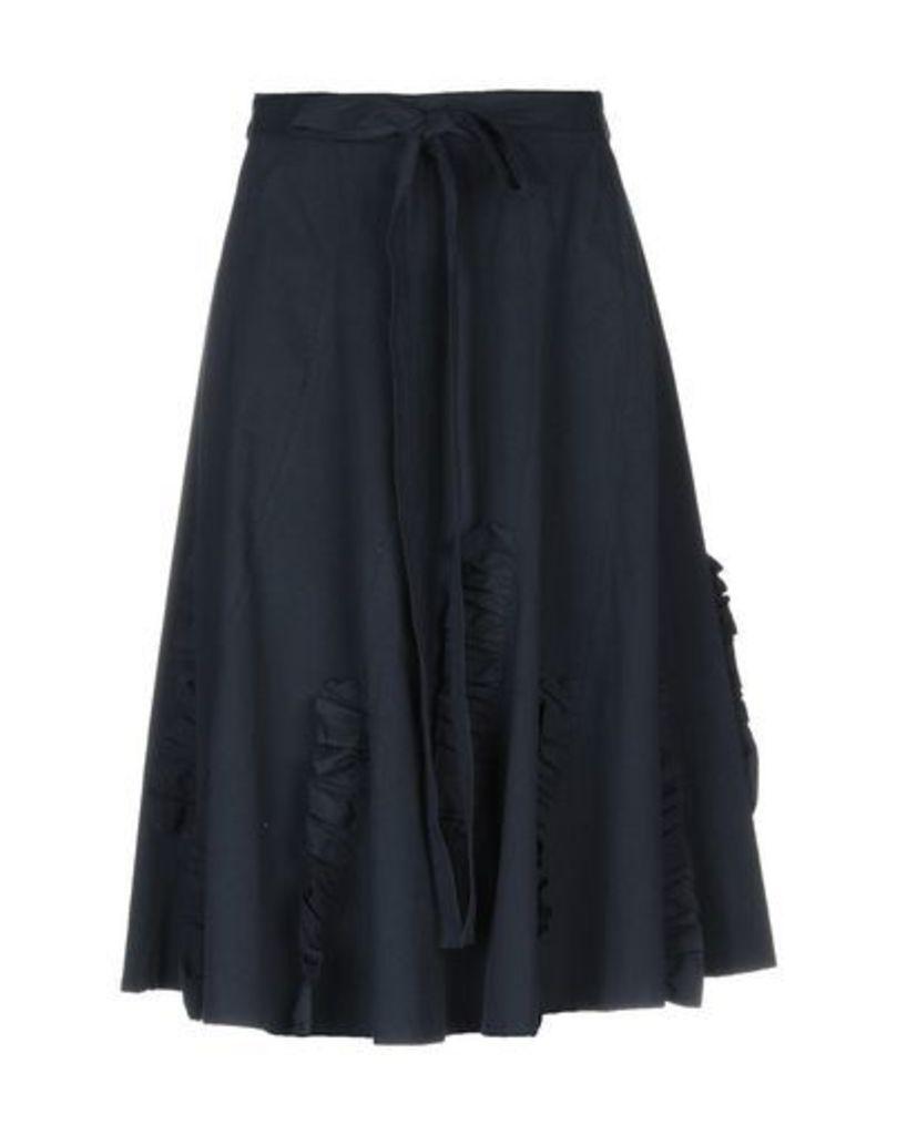 BACKGROUND SKIRTS 3/4 length skirts Women on YOOX.COM