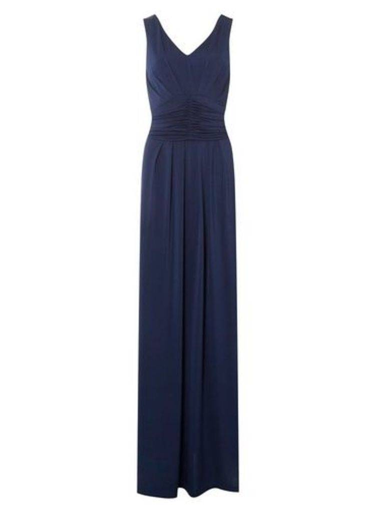 Womens **Showcase Navy 'Daisy' Maxi Dress- Blue, Blue