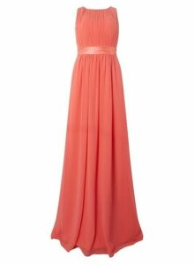 Womens **Showcase Tall Coral Natalie' Maxi Dress- Coral, Coral