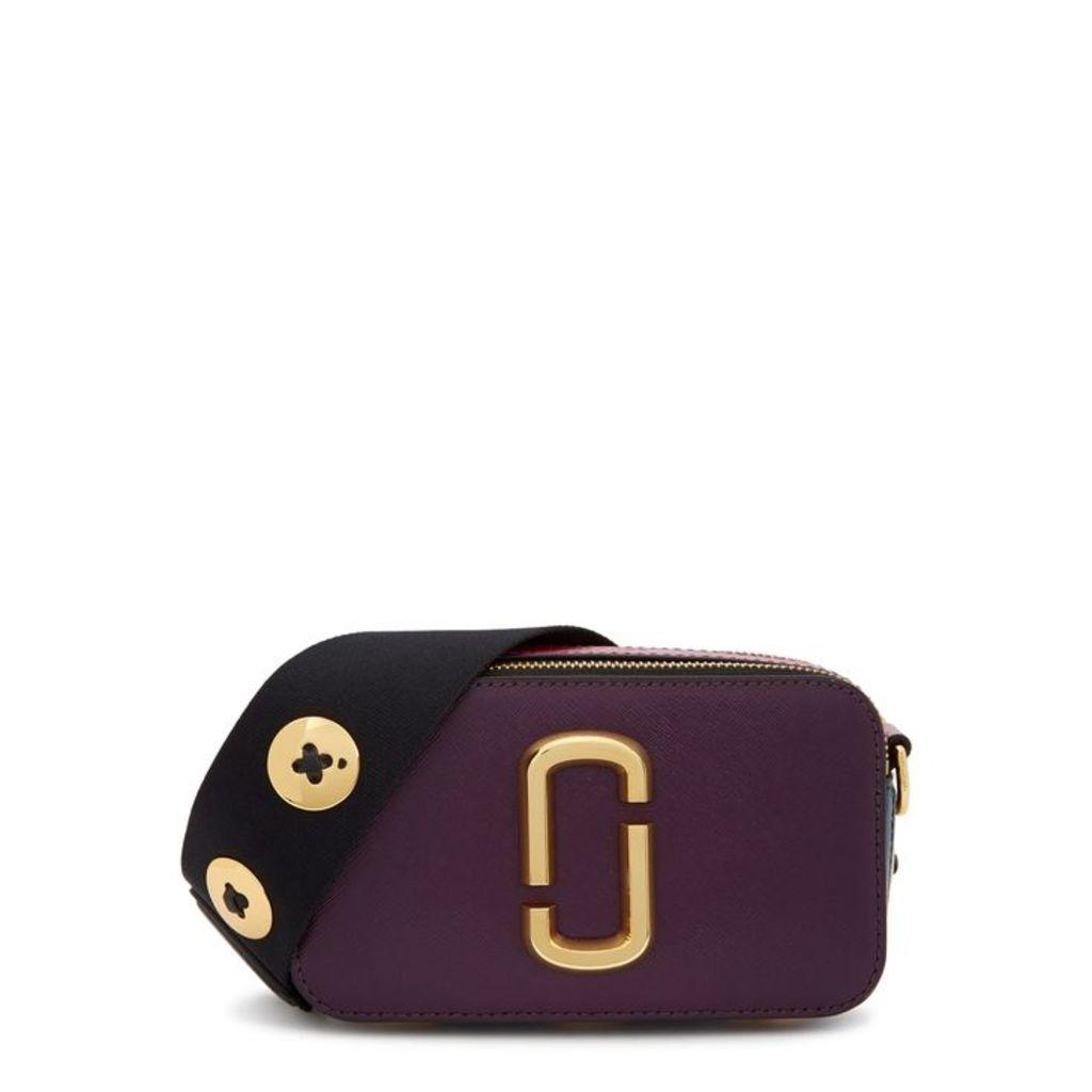 Marc Jacobs Snapshot Colour-block Leather Shoulder Bag