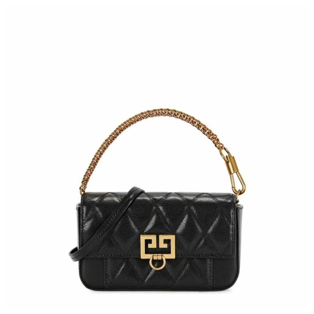 Givenchy Pocket Mini Black Leather Cross-body Bag