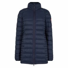 Canada Goose Brookvale Navy Quilted Coat