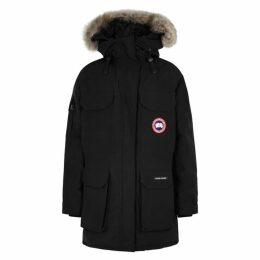 Canada Goose Expedition Black Fur-trimmed Parka