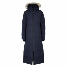 Canada Goose Mystique Fur-trimmed Shell Coat