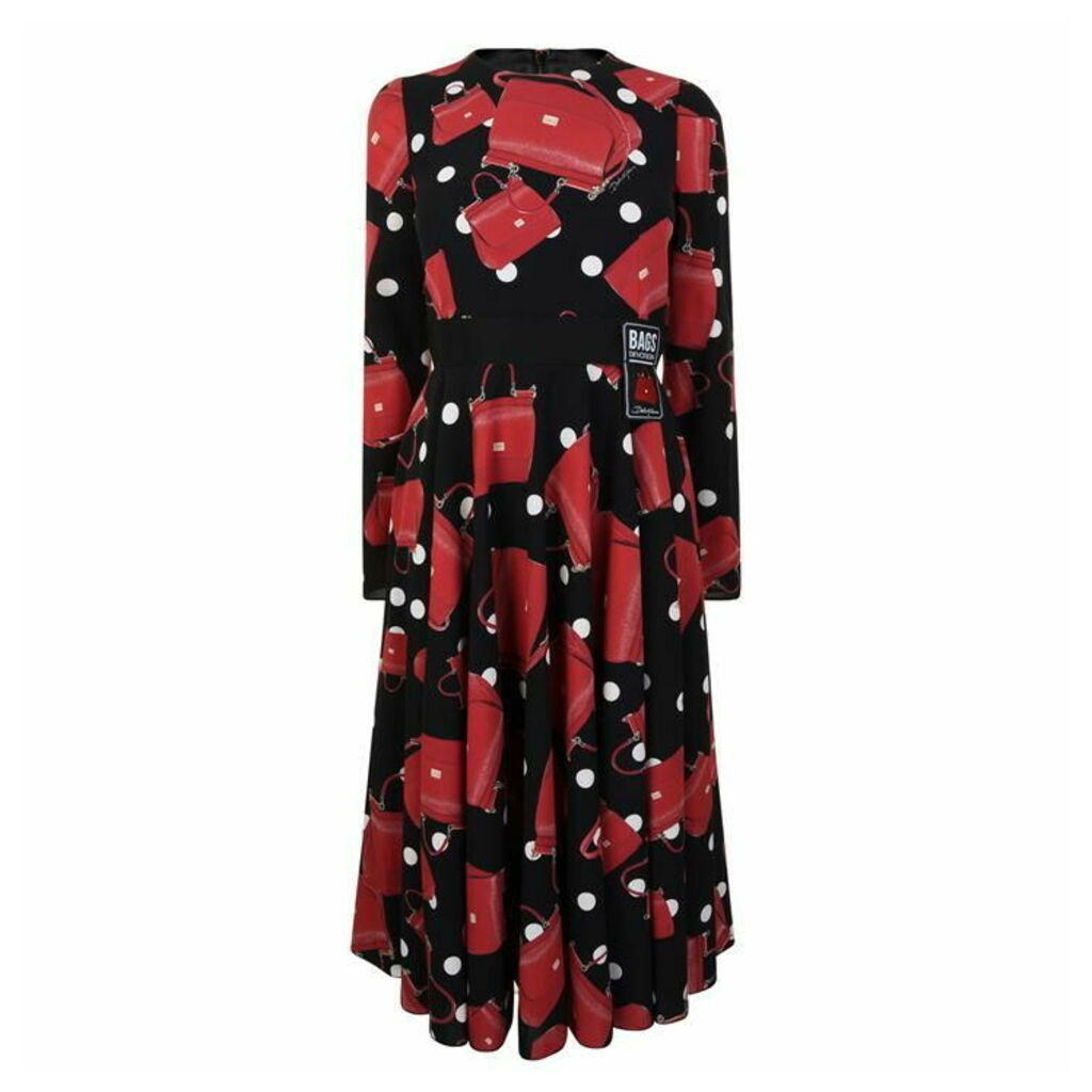 DOLCE AND GABBANA Miss Sicily Midi Dress