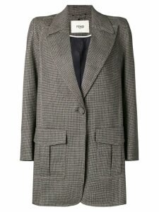 Fendi oversized blazer - Brown