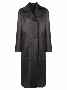 S.W.O.R.D 6.6.44 reversible double-breasted coat - Grey