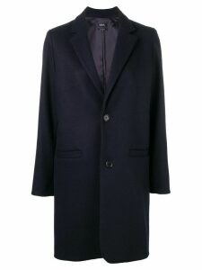 A.P.C. loose fitted coat - Blue