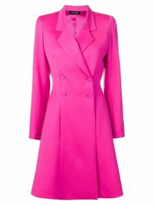 Styland midi buttoned coat - Pink