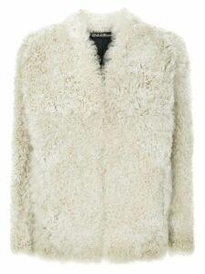 32 Paradis Sprung Frères open textured jacket - Neutrals