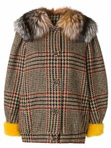 Simonetta Ravizza Irma S short coat - Brown