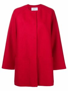 Harris Wharf London loose fitted coat - Red
