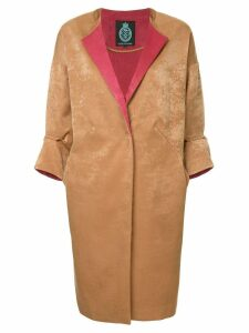 Guild Prime panelled coat - Brown