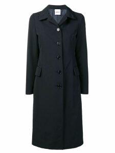 Aspesi classic buttoned coat - Blue