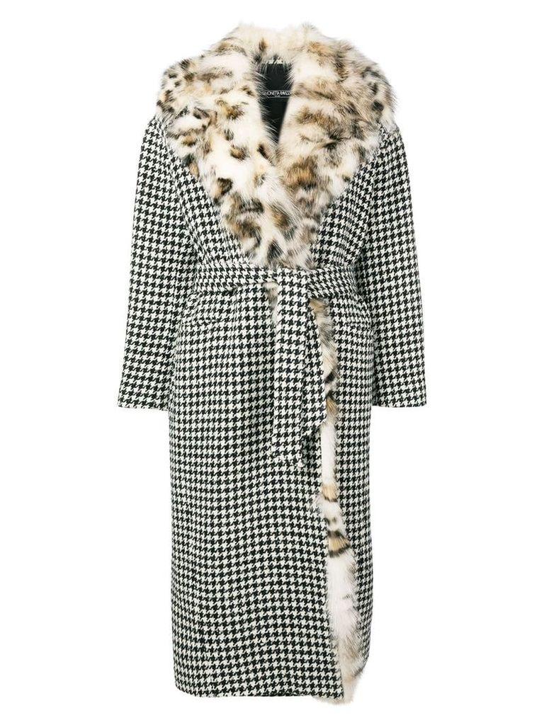 Simonetta Ravizza Ida coat - Black