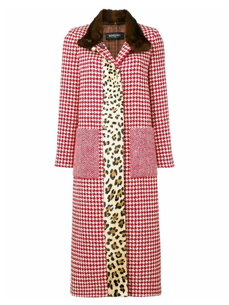 Simonetta Ravizza Daisy coat - Red