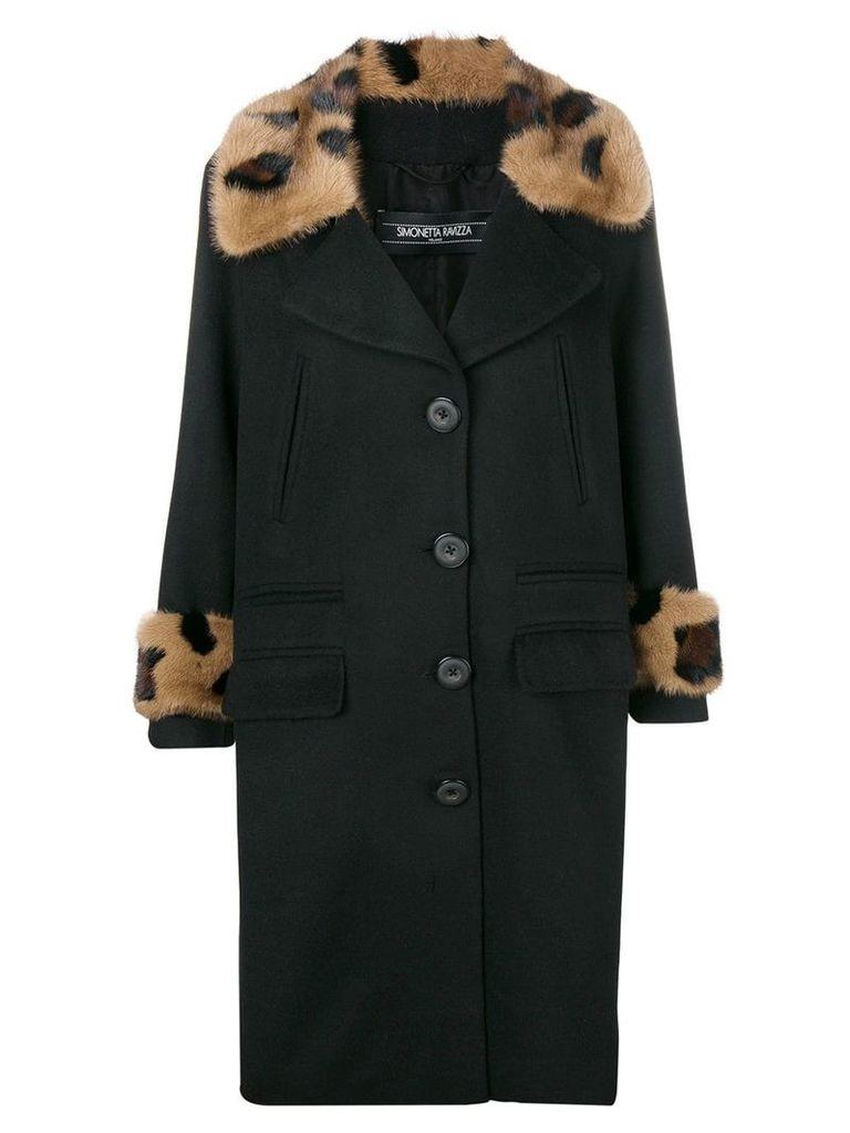 Simonetta Ravizza Oleandro coat - Black