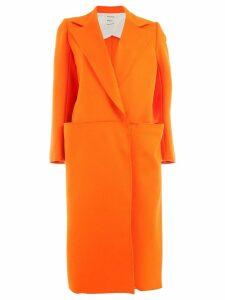 Maison Rabih Kayrouz concealed front coat - Yellow