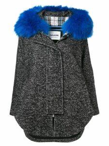Ava Adore hooded coat - Black