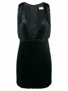 Saint Laurent micro pleated dress - Black