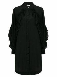 Givenchy long sleeve button-down dress - Black