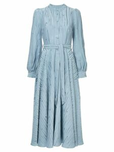 Co belted jacquard dress - Blue