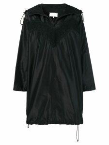 Maison Margiela lace raincoat dress - Black