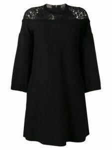 Steffen Schraut lace shift dress - Black