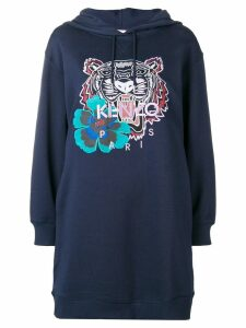 Kenzo hoodie dress - Blue