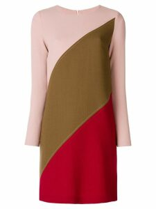 P.A.R.O.S.H. panelled shift dress - Pink