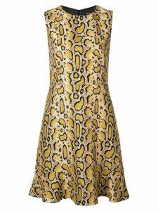 Etro leopard print dress - Neutrals