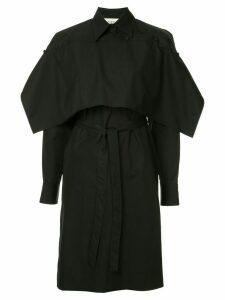 Ports 1961 tie waist shirt dress - Black