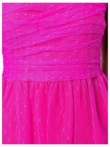 Red Valentino plumetti midi dress - Pink