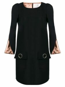 Elisabetta Franchi shift loose dress - Black