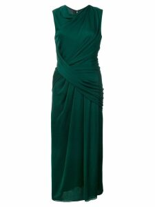 Jason Wu Collection ruched detail sleeveless dress - Green