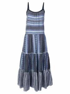 Lemlem striped full dress - Blue