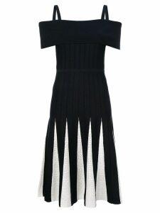 Kimora Lee Simmons off-shoulder knit dress - Blue