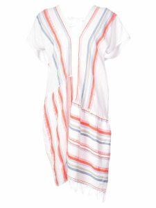 Lemlem Asha split dress - White