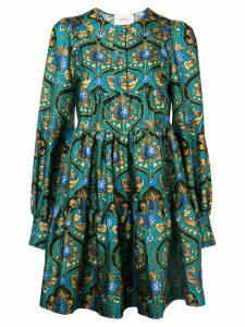 La Doublej printed peasant dress - Blue