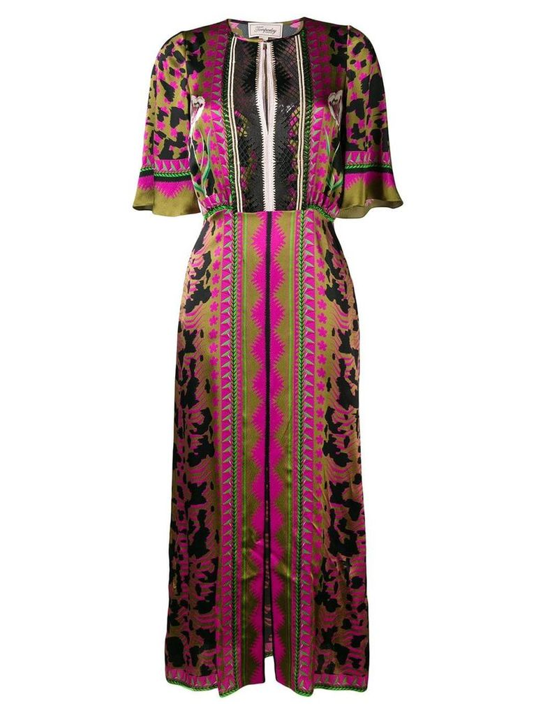 Temperley London Odyssey midi dress - Green