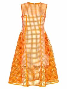 Paskal midi squared dress - Orange