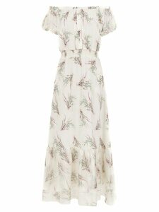Clube Bossa silk La Pomme dress - Neutrals