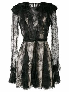 Philosophy Di Lorenzo Serafini sheer lace dress - Black