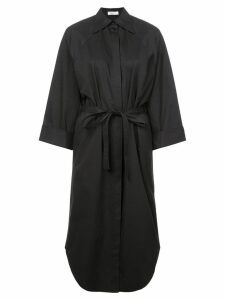 Nina Ricci belted shirt dress - Black