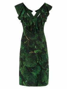 Isolda printed Maite dress - Green