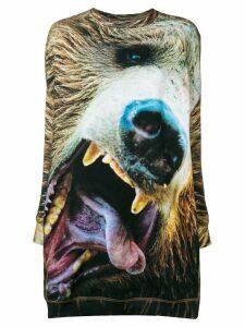 R13 Bear Grunge sweater dress - Green