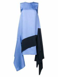 Roksanda asymmetric sleeveless dress - Delphinium